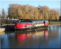 TL1998 : The Grain Barge, Peterborough by Derek Harper