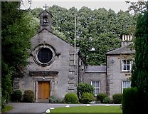 SK2281 : Hathersage - Catholic Church by Dave Bevis