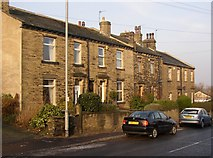 SE1321 : Houses, Crowtrees Lane, Rastrick by Humphrey Bolton