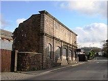 SW6439 : Derelict Building, Camborne Station by Tom Jolliffe