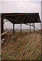 SE9835 : Dilapidated barn near Risby Park Farm by Paul Harrop