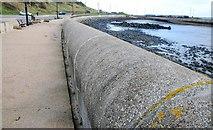 J4792 : The sea wall, Whitehead (1) by Albert Bridge