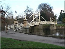 SO5139 : Hereford: Victoria Bridge by Chris Downer