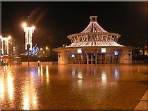 SZ0891 : Bournemouth: The Square, lit for Christmas by Chris Downer
