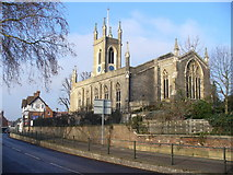 TQ1469 : St Mary's, Hampton by Colin Smith