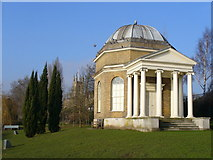 TQ1469 : Garrick's Temple, Hampton by Colin Smith