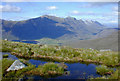 NG8751 : Lochan on the col, Beinn Damh by Nigel Brown