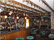 NY0418 : The Main Bar. The Hound Inn, Arlecdon, Cumbria. by Clive Warneford