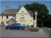 ST9898 : The Thames Head Inn by John Attfield