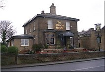 SE1735 : The Manor House - Leeds Road, Eccleshill by Betty Longbottom