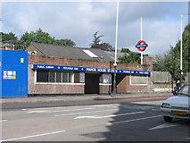 TQ3287 : Manor House Underground Station by John Attfield