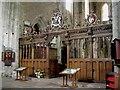 SO3830 : Screen, Dore Abbey, c.1633 by Philip Pankhurst