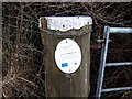 SO2180 : Defra notice on a gatepost by toby everard