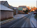 NY5733 : Back Lane, Langwathby by Andrew Smith