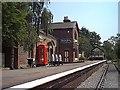 SJ3377 : Hadlow Station by J Scott