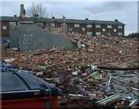 TA1431 : Demolition site, Greenwich Avenue by Paul Harrop