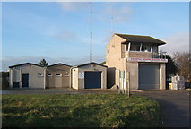 SD1578 : Haverigg Inshore Rescue station by Andrew Hill