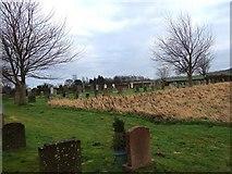 NT8937 : Branxton cemetery annexe by Stanley Howe