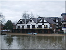 TL0549 : Bedford Rowing Clubhouse by Alexander P Kapp