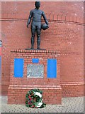 NS5564 : John Greig Statue Ibrox by Johnny Durnan
