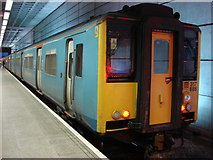 TL5523 : Stansted Express Train at Stansted Airport station by Oxyman