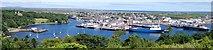 NB4232 : Stornoway Harbour by David Maclennan
