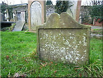 J5081 : The grave of Martha Campbell, Bangor Abbey graveyard by Rossographer