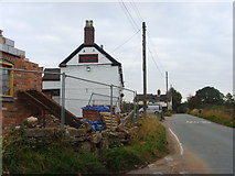 SJ6628 : Building work at the Red Lion by A Holmes