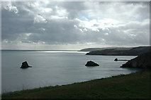 SX9456 : View S/SW from Berry Head by Ian Dudley