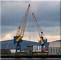 J3576 : Dock cranes, Belfast [1] by Rossographer