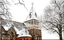J3774 : Snow, Belfast (3) by Albert Bridge