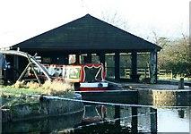 ST9060 : 2008 : Drydock at Semington by Maurice Pullin