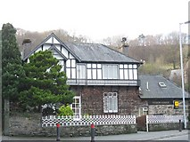 SH5638 : Tudor Lodge Guest House, Penamser Road. by Eric Jones