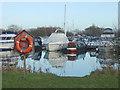 SK6039 : Colwick Marina by Alan Murray-Rust