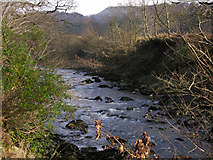SN7673 : The Afon Ystwyth by Nigel Brown
