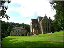 NZ1198 : Manor House And Priory by J Scott