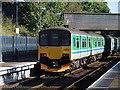 SP0189 : Train departing from Smethwick Galton Bridge Station by John Lucas