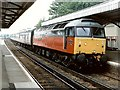 SU6352 : Railway Station, Basingstoke by Dave Hitchborne