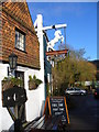 TQ0747 : White Horse, Shere by Colin Smith