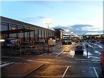 NS5170 : Early morning, Great Western Retail Park by Stephen Sweeney