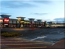 NS5170 : Shops in Great Western Retail Park by Stephen Sweeney