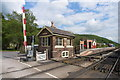 SE8190 : Levisham Station Signal Box by dennis smith