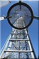 TM3642 : Coastguard station radio mast by Bob Jones