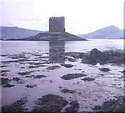 NM9247 : Castle Stalker by Trevor Rickard