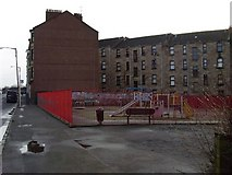 NS6263 : Play park in Glasgow's East End by Stephen Sweeney