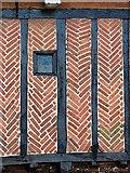 TM4599 : The Bell Inn - detail by Evelyn Simak