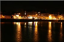 NR7220 : Campbeltown Seafront After Dark by Steve Partridge