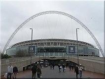 TQ1985 : Wembley: Wembley Stadium by Chris Downer