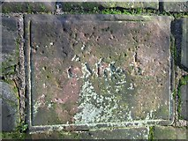SJ4065 : Distance marker on the city walls - 1 mile ½ by John S Turner