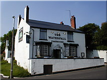 SO9686 : 'The Waterfall' Public House by Row17